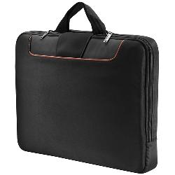 Everki - EKF808S18 - Everki Commute EKF808S18 Carrying Case (Sleeve) for 18.4 Notebook - Black - Polyester - 13.6 Height x 2 Width x 18.7 Depth