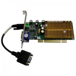 Jaton - VIDEO-338PCI-LX - Jaton GeForce 6200 Graphics Card - nVIDIA GeForce 6200 - 256MB DDR SDRAM - HD-15, MD-9