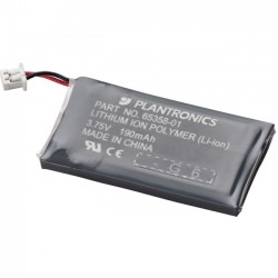 Plantronics - 64399-01 - Plantronics Rechargeable Headset Battery - Lithium Ion (Li-Ion) - 3.8 V DC