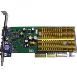 Jaton - 3DFORCE6200TWIN - Jaton GeForce 6200 Graphics Card - nVIDIA GeForce 6200 - 256MB DDR SDRAM 64bit - AGP 8x - HD-15 - Retail