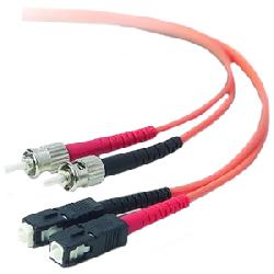 Belkin / Linksys - A2F20207-20M - Belkin Fiber Optic Duplex Patch Cable - Fiber Optic - Patch Cable - 65.62 ft - 2 x SC Male - 2 x Male - Orange