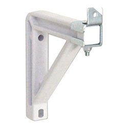 Draper - 227222 - Draper Non-Adjustable Wall Bracket - White