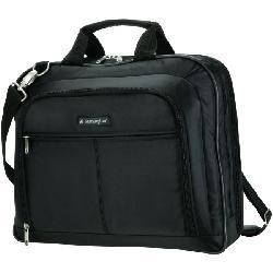 Kensington - K62563USA - Kensington SP40 Carrying Case for 15.6 Notebook - Black - Shoulder Strap, Handle, Trolley Strap - 12.5 Height x 15.8 Width x 3.5 Depth