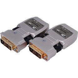 Gefen - EXT-DVI-FM500-150B - Gefen EXT-DVI-FM500-150B Video Console/Extender - 1 Input Device - 1 Output Device - 5000 ft Range - 1 x DVI In - 1 x DVI Out - WUXGA - 1920 x 1200 - Optical Fiber