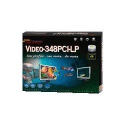 Jaton - VIDEO-348PCI-LP - Jaton GeForce 6200 Graphics Card - nVIDIA GeForce 6200 - 512MB GDDR2 SDRAM 64bit - PCI - DMS-59 - Retail