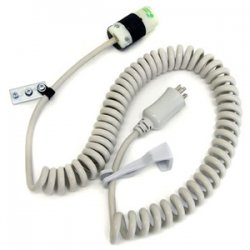 Ergotron - 97-464 - Ergotron Coiled Standard Power Cord - 15A - 8ft