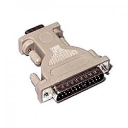 C2G (Cables To Go) - 02446 - C2G DB9 Female to DB25 Male Serial Adapter - 1 x DB-9 Female Serial - 1 x DB-25 Male Serial - Beige