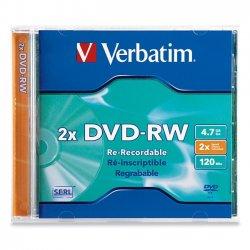 Verbatim / Smartdisk - 94501 - Verbatim Datalifeplus - 1 X Dvd-rw 4.7 Gb 2x - Jewel Case - Storage Media