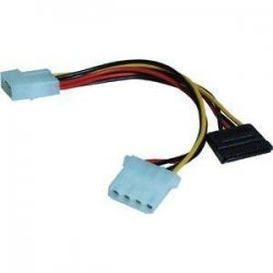 SIIG - CB-SATP11 - SIIG Serial ATA (7-pin) Power Cord - 6""