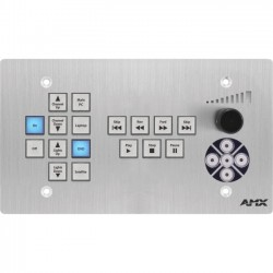 AMX - FG1302-17-4-SA - AMX 17-Button ControlPad, Navigation, Transport Controls (US)