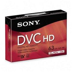 Sony - DVM63HDR - Sony DVC HD Videocassette - DVC - 1.05 Hour