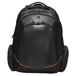 Everki - EKP119 - Everki EKP119 Carrying Case (Backpack) for 16 Notebook - Black - Nylon, Foam Interior - Checkpoint Friendly - 17.7 Height x 9.5 Width x 13 Depth