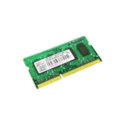 Transcend - TS256MSK64V1N - Transcend TS256MSK64V1N 2GB DDR3 SDRAM Memory Module - 2 GB (1 x 2 GB) - DDR3 SDRAM - 1066 MHz DDR3-1066/PC3-8500 - Non-ECC - Unbuffered - 204-pin - SoDIMM