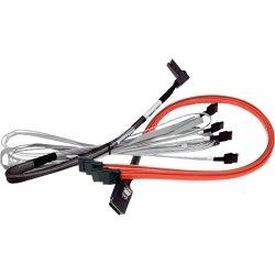 LSI Logic - LSI00259 - LSI Logic SAS to SATA Cable Adapter - SAS/SATA - 1.97 ft - SFF-8087 Mini-SAS - SATA
