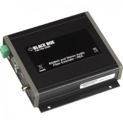 Black Box Network - AC1021A-REC - Black Box Video Console - 1 Output Device - 2460.63 ft Range - 1 x VGA Out - 1 x ST Ports - WXGA - 1280 x 720 - Optical Fiber