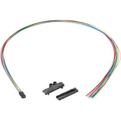 Black Box Network - EFN12-24 - Black Box Fan-Out Kit, 12-Fiber Buffer Tube, 25-in.