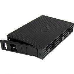 StarTech - 25SATSAS35 - StarTech.com 2.5in SATA/SAS SSD/HDD to 3.5in SATA Hard Drive Converter - Black