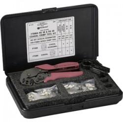 Black Box Network - FT098A - Black Box RG-58/59 Coax Crimp Tool Kit