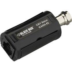 Black Box Network - IC448A-R2 - Black Box IC448A-R2 Balun Antenna Adapter - 1 Pack - Black