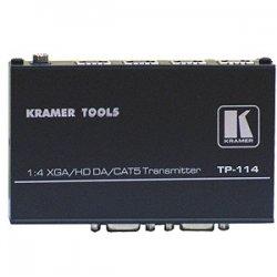 Kramer Electronics - TP-114 - 1x4 Computer Graphics Video & HDTV over Twisted Pair Transmitter & Distribution Amplifier