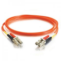 C2G (Cables To Go) - 37977 - C2G 3m LC-LC 50/125 OM2 Duplex Multimode Fiber Optic Cable (Plenum-Rated) - Orange - LC Male - LC Male - 9.84ft - Orange