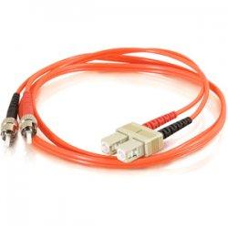 C2G (Cables To Go) - 14549 - C2G 5m SC-ST 50/125 OM2 Duplex Multimode PVC Fiber Optic Cable (USA-Made) - Orange - Fiber Optic for Network Device - SC Male - ST Male - 50/125 - Duplex Multimode - OM2 - USA-Made - 5m - Orange