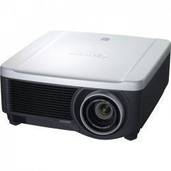 Canon - 4964B005 - Canon REALiS WUX4000 D LCOS Projector - 1080p - HDTV - 16:10 - NSH - 330 W - NTSC, PAL, SECAM - 3000 Hour Normal Mode - 4000 Hour Economy Mode - 1920 x 1200 - WUXGA - 1,000:1 - 4000 lm - HDMI - VGA In - Ethernet - 3 Year Warranty