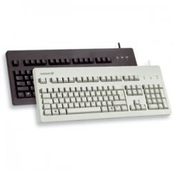 Cherry - G803000LSCEU2 - Cherry G80-3000 MX Technology Keyboard - Cable Connectivity - USB Interface - 104 Key - Compatible with Computer - Black