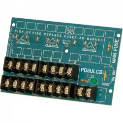 Altronix - PD8ULCB - Altronix PD8ULCB Power Distribution Module - 28 V AC, 28 V DC