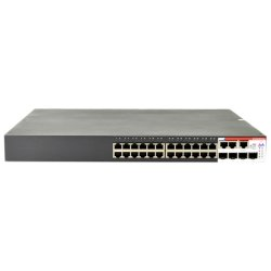 Amer Networks - SS2GR26IP - Amer SS2GR26ip Ethernet Switch - 26 Ports - Manageable - 4 x Expansion Slots - 10/100/1000Base-T - 26 x Network, 4 x Expansion Slot - Shared SFP Slot - 4 x SFP Slots - 2 Layer Supported - 1U HighLifetime Limited Warranty