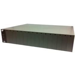 Amer Networks - MR16 - Amer MR16 Media Converter Chassis