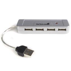 StarTech - ST4200MINI - StarTech.com Mini 4 Port USB 2.0 Hub - 1 x 4-pin Type A Male USB 2.0