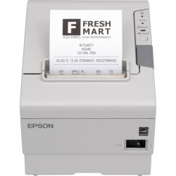 "Epson - C31CA85A8870 - Epson TM-T88V Direct Thermal Printer - Monochrome - Desktop - Receipt Print - 2.83"" Print Width - 11.81 in/s Mono - 180 x 180 dpi - 4 KB - USB - Serial - 3.13"" Label Width"