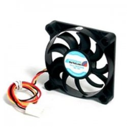 StarTech - FAN6X1TX3 - StarTech.com Replacement 60mm Ball Bearing CPU Case Fan - TX3 Connector - System fan kit - 60 mm - 60mm - 4000rpm