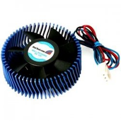 StarTech - FANCSORB - StarTech.com Aluminum Universal VGA Cooler Fan w/ Heatsink and TX3 Connector - 4500rpm