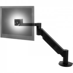 Innovative Office Products - 7000-1000-NM-104 - Innovative 7000-1000 Mounting Arm for Flat Panel Display - 31 lb Load Capacity - Aluminum - Vista Black