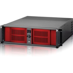 "iStarUSA - D-300L-RED - iStarUSA D Storm D-300L System Cabinet - Rack-mountable - Red - Zinc-coated Steel - 3U - 7 x Bay - 4 x Fan(s) Installed - EATX, ATX, Micro ATX Motherboard Supported - 5 x Fan(s) Supported - 4 x External 5.25"" Bay - 2 x External"