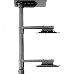 InFocus - PRJ-STACK-UNIV - InFocus PRJ-STACK-UNIV Ceiling Mount for Projector - 100 lb Load Capacity - Steel