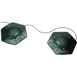 ClearOne - 910-158-361 - ClearOne MAXAttach 910-158-361 IP Conference Station - Cable - 1 x Total Line - VoIP - Speakerphone - 1 x - Monochrome