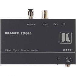 Kramer Electronics - 611T - Kramer 611T Video Extender - 1 Input Device - 1 Output Device - 16404.20 ft Range - 1 x ST Ports - Optical Fiber