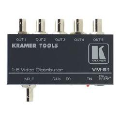 Kramer Electronics - VM-51 - Kramer VM-51 Distribution Amplifier - 5-way - 420MHz