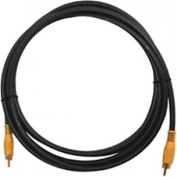 Kramer Electronics - C-RVM/RVM-3 - Kramer C-RVM/RVM-3 Composite Video Cable - Composite for Video Device - 3 ft - 4 x RCA Male Video - 4 x RCA Male Video