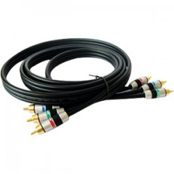 Kramer Electronics - C-3RVM/3RVM-25 - Kramer C-3RVM/3RVM-25 Component Video Cable - Component - 25 ft - 3 x RCA Male Video - 3 x RCA Male Video