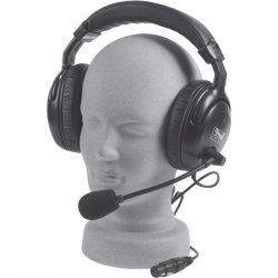 Anchor Audio - H-2000 - Anchor Audio H-2000 Headset - Stereo - XLR - Wired - Over-the-head - Binaural - Ear-cup - Dynamic, Noise Cancelling Microphone