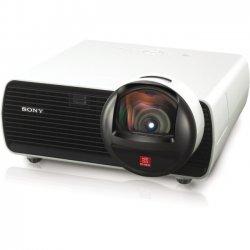 Sony - VPLSW125 - Sony VPL-SW125 LCD Projector - 720p - HDTV - 16:10 - SECAM, NTSC, PAL - 1280 x 800 - WXGA - 3,800:1 - 1800 lm - HDMI - VGA In - Fast Ethernet - 275 W
