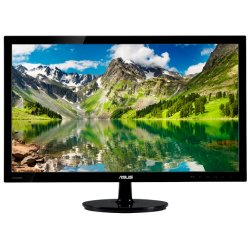 "Asus - VS248H-P - Asus VS248H-P 24"" LED LCD Monitor - 16:9 - 2 ms - Adjustable Display Angle - 1920 x 1080 - 16.7 Million Colors - 250 Nit - 50,000,000:1 - Full HD - DVI - HDMI - VGA - 32 W - Glossy Black - ENERGY STAR, RoHS, WEEE, EPEAT Silver"