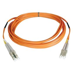 Tripp Lite - N520-30M-P - Tripp Lite 30M Duplex Multimode 50/125 Plenum Fiber Optic Patch Cable LC/LC 100' 100ft 30 Meter - Fiber Optic for Network Device - Patch Cable - 100 ft - 2 x LC Male Network - 2 x LC Male Network - Orange