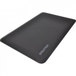 "Ergotron - 97-620-060 - Ergotron WorkFit Floor Mat - Floor - 24.02"" Length x 35.98"" Width x 0.63"" Thickness - Polyurethane Foam - Black"