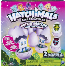 Spin Master - 6039785 - Spin Master Hatchy Matchy Board Game - Matching2 Players