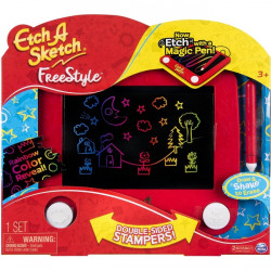 Spin Master - 6036146 - Spin Master Etch A Sketch Freestyle - Skill Learning: Drawing, Sketching, Creativity